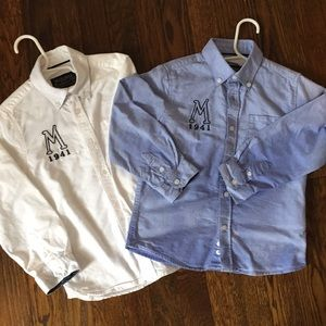 Size 4: Mayoral boys button down shirts